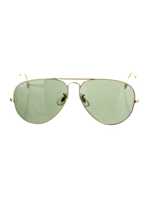 Ray-Ban Vintage Aviator Sunglasses Gold