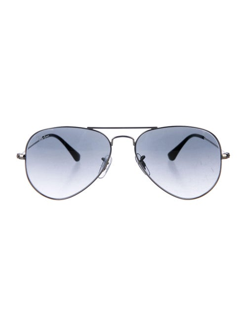 Ray-Ban Large Aviator Sunglasses Silver
