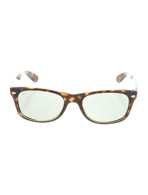 Ray-Ban Tortoiseshell Wayfarer Sunglasses Green