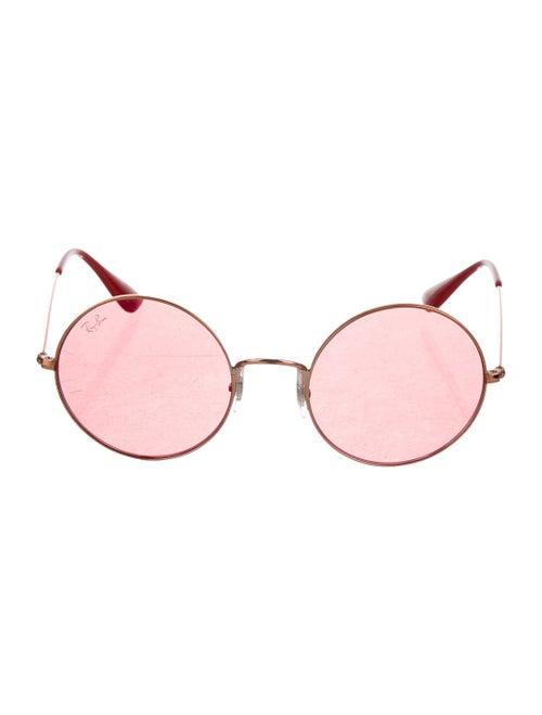 Ray-Ban Round Tinted Sunglasses Gold