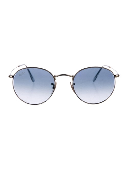Ray-Ban Round Metal Round Sunglasses Gold - image 1