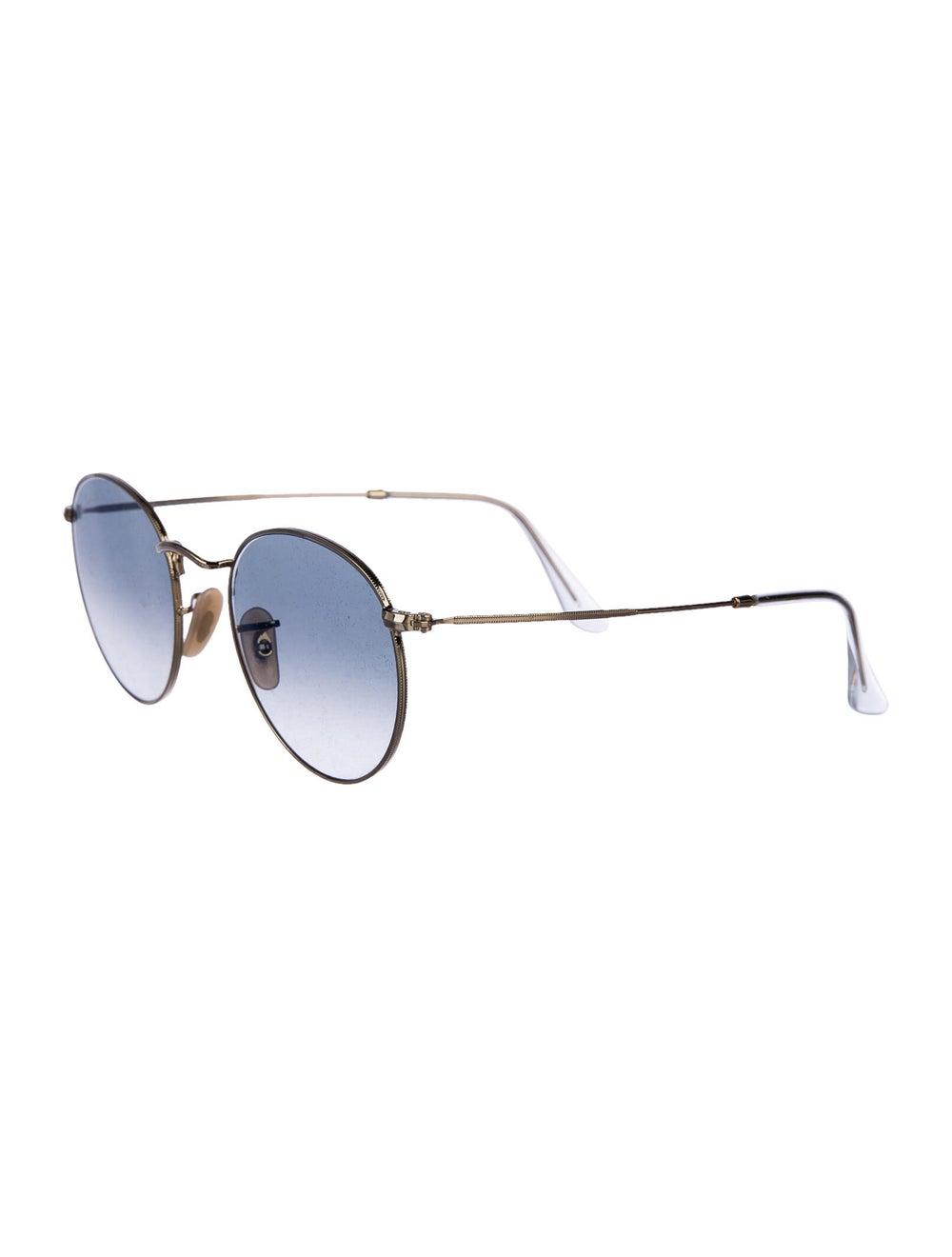 Ray-Ban Round Metal Round Sunglasses Gold - image 2