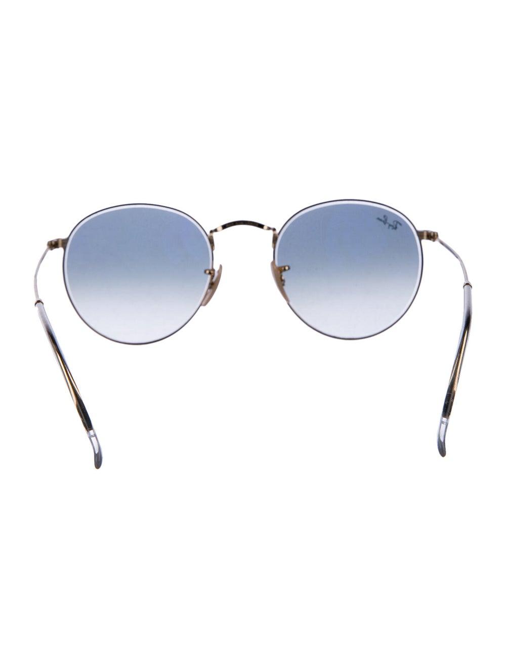Ray-Ban Round Metal Round Sunglasses Gold - image 3