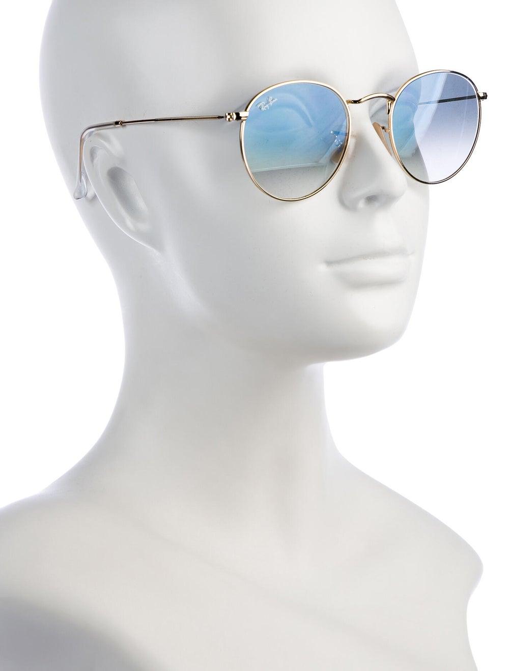 Ray-Ban Round Metal Round Sunglasses Gold - image 4