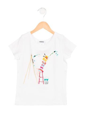Rykiel Enfant Girls' Embroidered T-Shirt