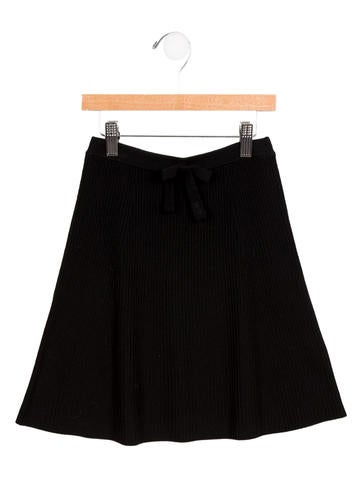 Rykiel Enfant Girls' Wool Knit Skirt None