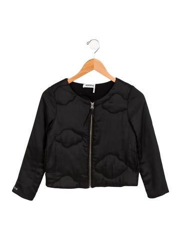 Rykiel Enfant Girls' Quilted Zip-Up Jacket None