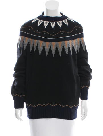Sacai Nordic Wool Sweater None