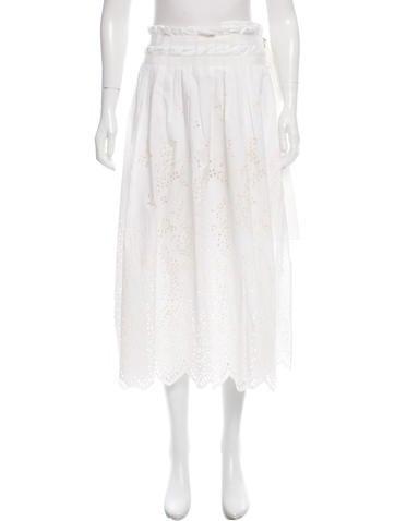 Sacai Pleated  Wrap Skirt None