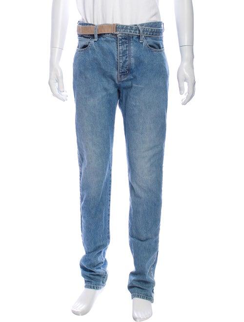 Sacai Skinny Jeans Blue