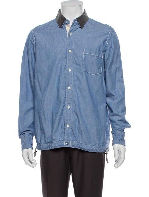 Sacai Long Sleeve Shirt Blue