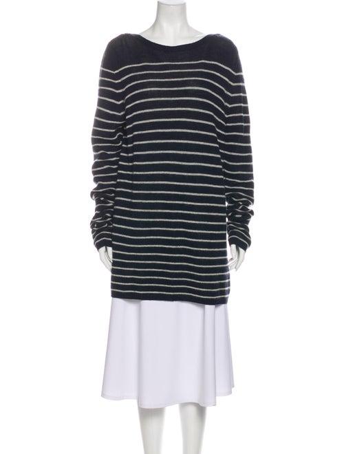 Sacai Wool Striped Sweater Wool