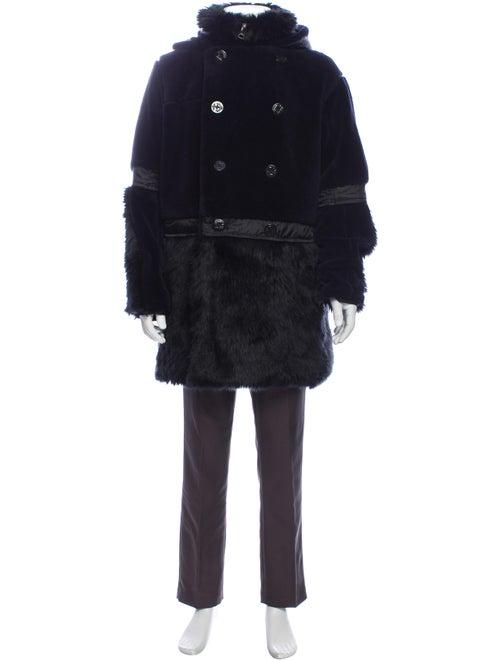 Sacai Coat Blue