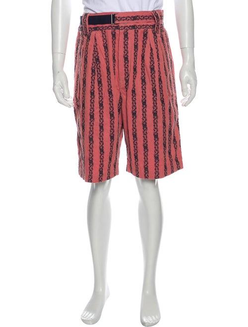Sacai Printed Shorts w/ Tags Pink