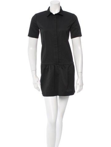 Sandro Cap-Sleeved Mini Dress None
