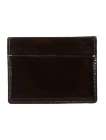 Leather Logo Cardholder