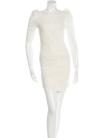 Sandro Lace Mini Dress None