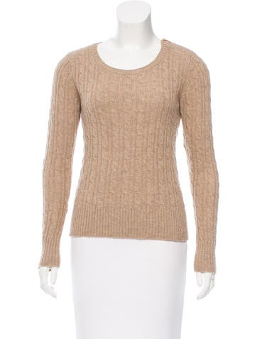 Sandro Wool Cable Knit Sweater None