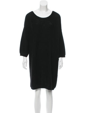 Sandro Oversize Sweater Dress None