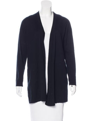 Sandro Pleated Open-Front Cardigan None