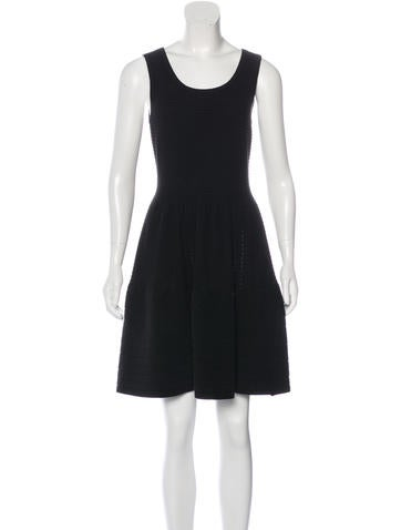 Sandro Sleeveless Rib Knit Dress None