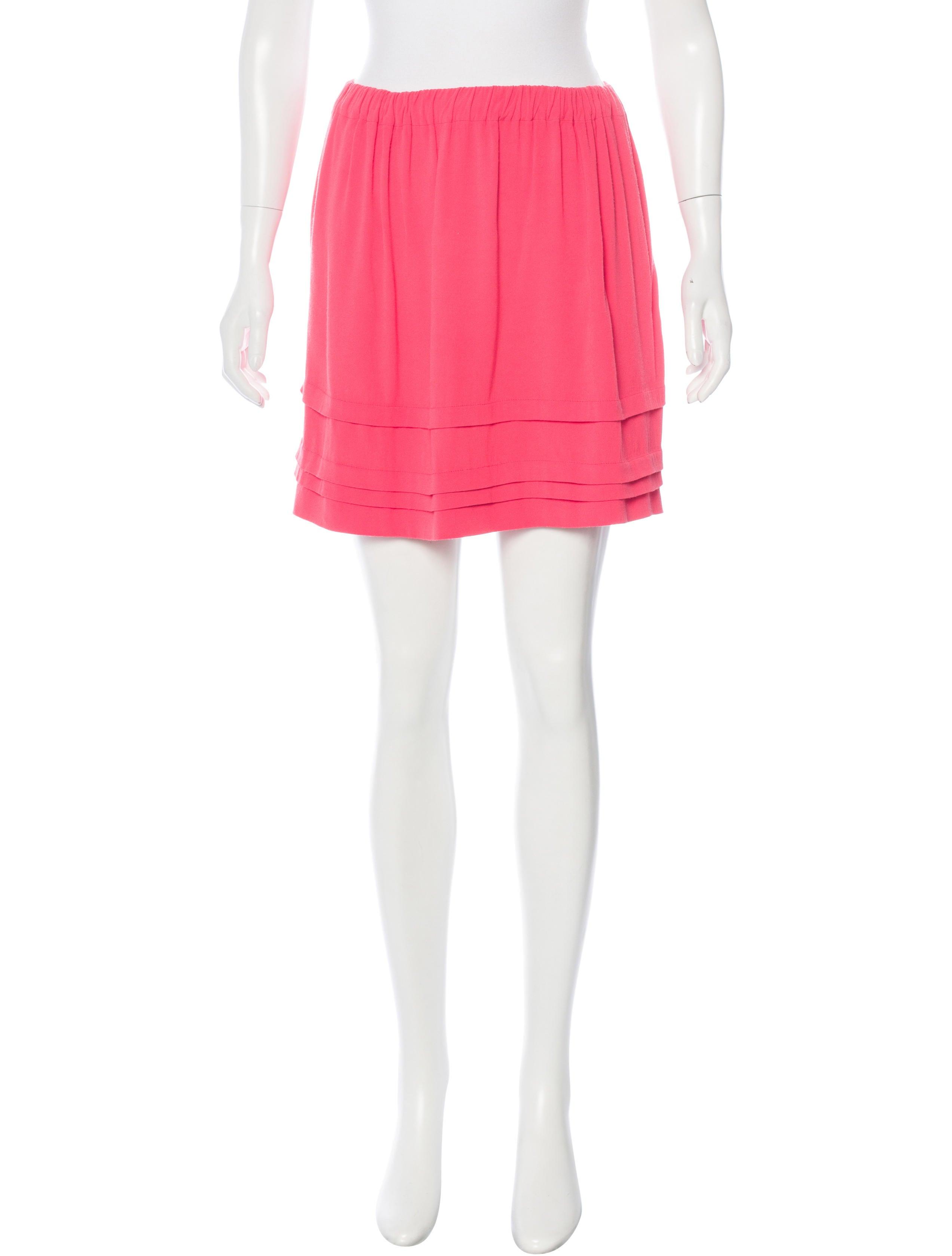 sandro mini a line skirt skirts ws225523 the realreal