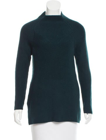 Sandro Rib Knit Sweater None