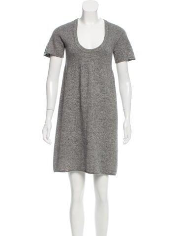 Sandro Mini Sweater Dress None