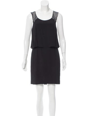 Sandro Layered Mini Dress None