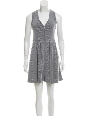 Sandro Textured Mini Dress None