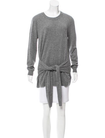 Sandro Wool & Cashmere-Blend Sweater None