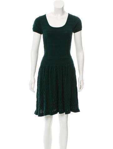 Sandro Knit Mini Dress None