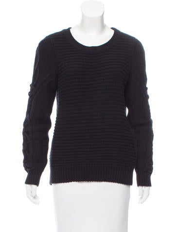 Sandro Cable Knit Sweater None
