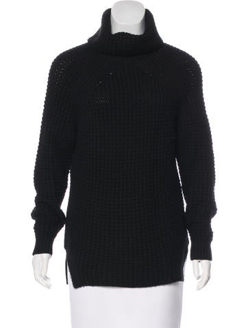 Sandro Wool Turtleneck Sweater None