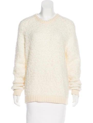 Sandro Virgin Wool Blend Sweater None