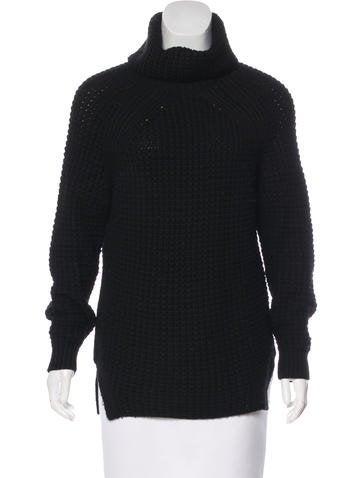 Sandro Wool Turtleneck Sweater None