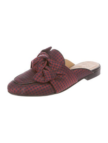 Sandro Maina Jacquard Mules cheap sale deals cheap low cost sale sast free shipping authentic for nice cheap price 3HySG