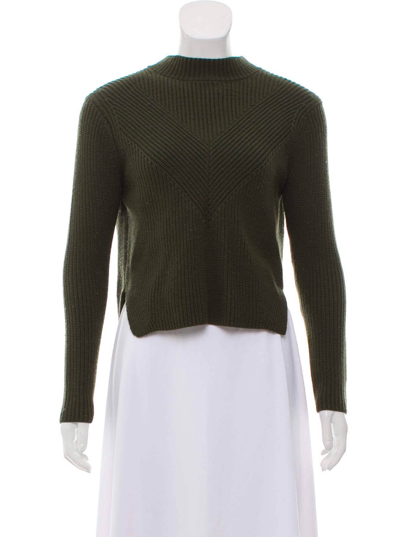 Sandro Cropped Zip Up Sweater Clothing Ws234000 The Realreal