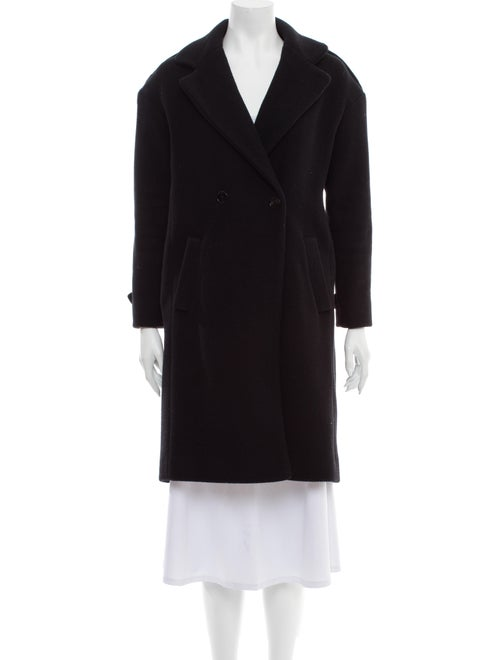Sandro Wool Coat Wool