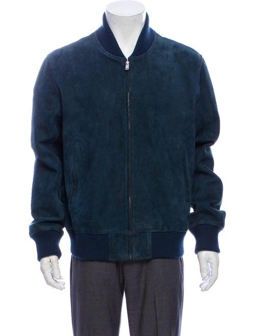 Sandro Bomber Jacket Blue