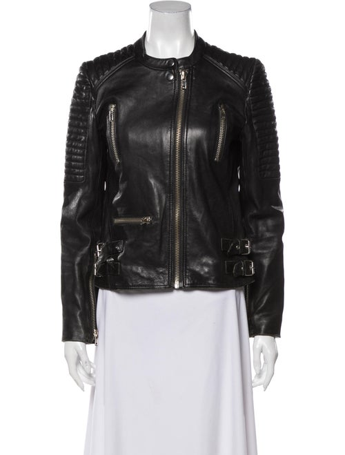 Sandro Biker Jacket Black