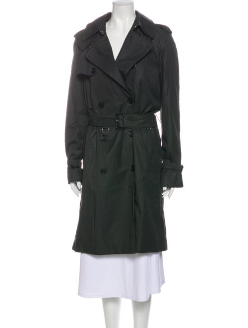 Sandro Trench Coat Green