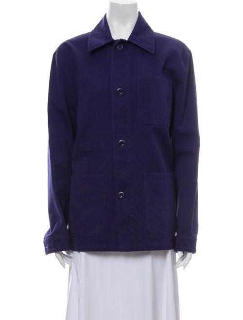 Sandro Utility Jacket Blue