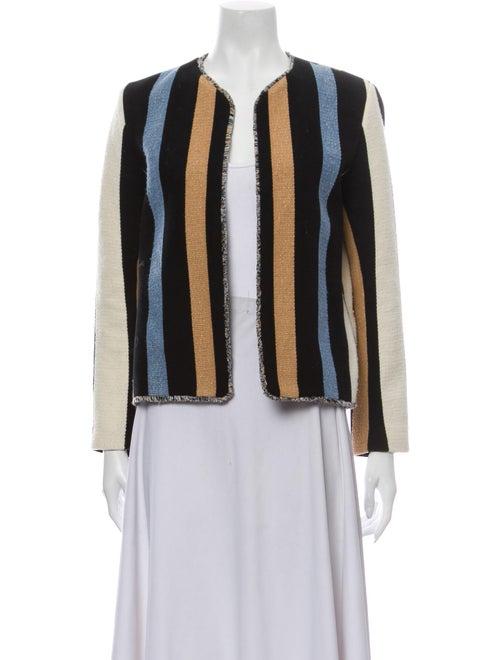 Sandro Striped Evening Jacket