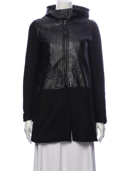 Sandro Wool Coat Wool
