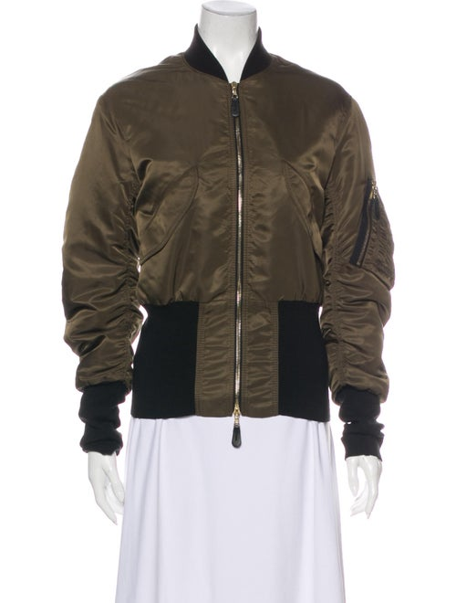 Sandro Bomber Jacket Green