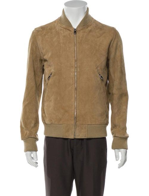 Sandro Goat Leather Jacket