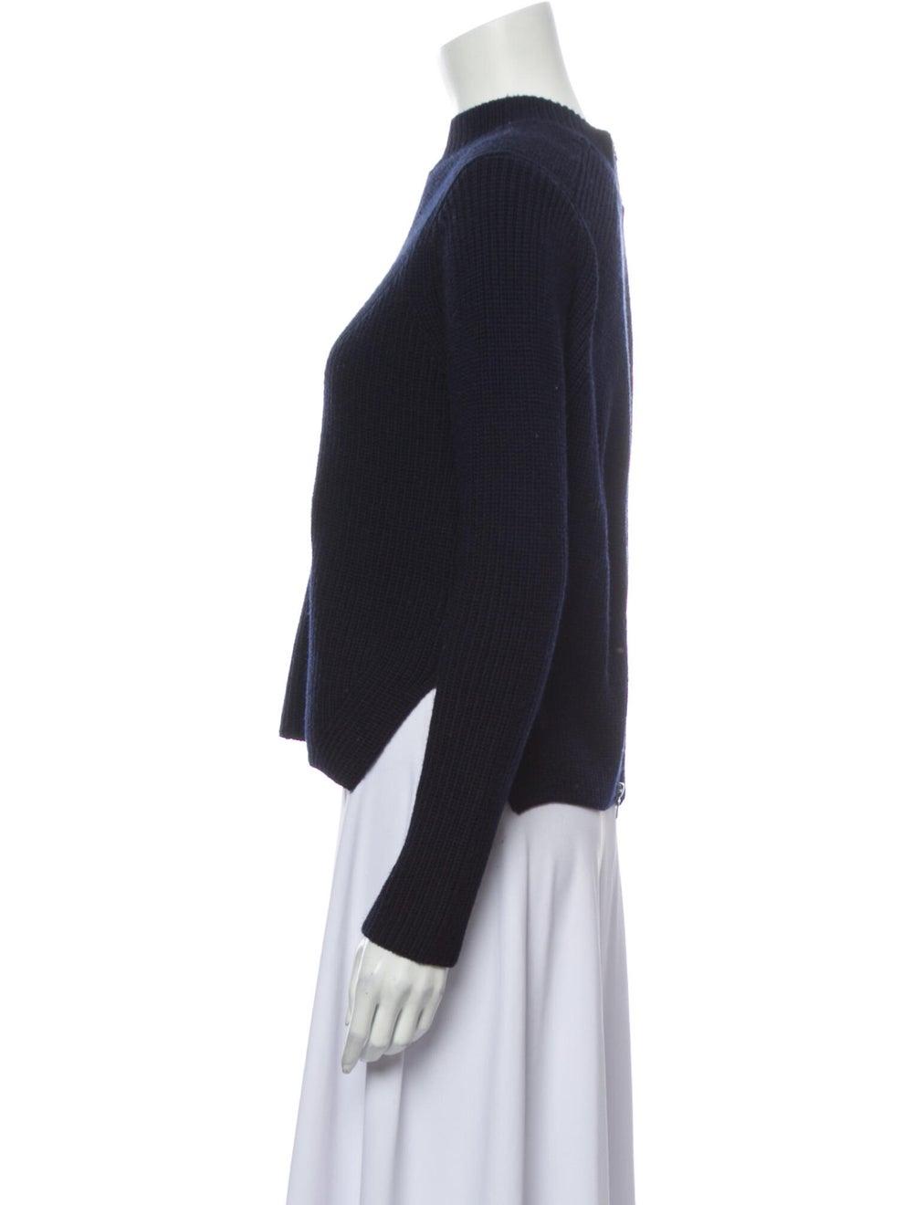 Sandro Wool Mock Neck Sweater Wool - image 2
