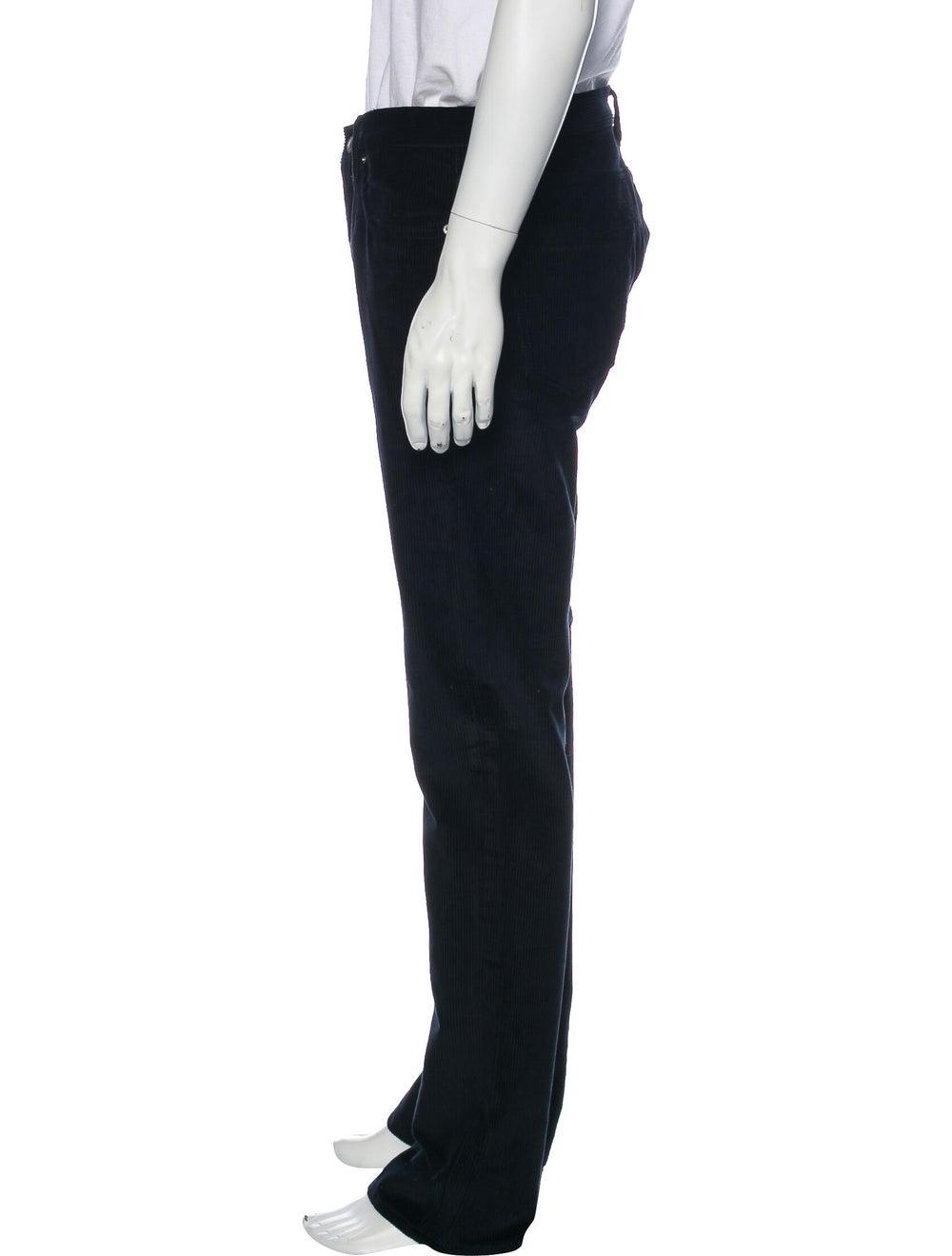 Sandro Corduroy Pants Blue - image 2