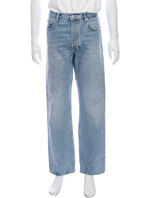 Sandro Straight-Leg Jeans Blue